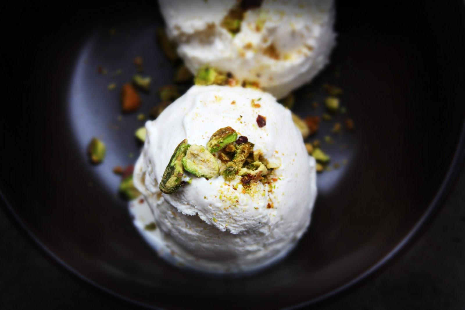 sweet scoop of ice cream kulfi indian cardamom ice cream